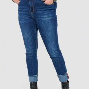 Jeansy H18012 Blue Shadow
